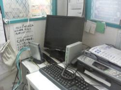 事務所PCでモニタリング