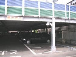 駐車場内設置カメラ
