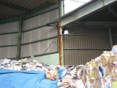 リサイクル現場に設置