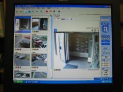 管理人室で集中管理・録画