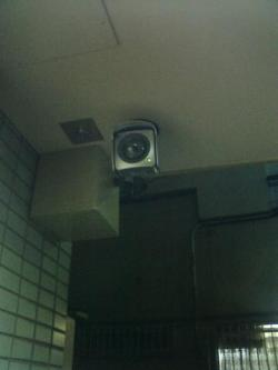店舗入り口カメラ