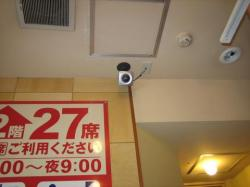 券売機上ネットワークカメラ