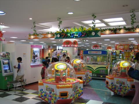 ゲームセンター店舗